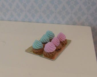 Dollhouse miniature pastries