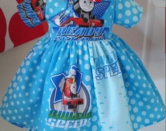 SALE Thomas & friends gathered dress Sz 3T