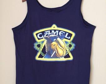 90s Joe Camel Cigarettes muscle tank