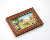 Small Mini Original Oil Painting