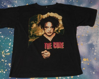 1996 The CURE Robert Smith T-Shirt Size XL 90s Concert