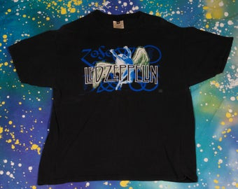 LED ZEPPELIN Classic Rock T-Shirt Size Xl