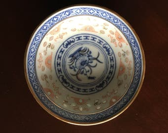 Small chinese plate/bowl.