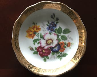 Mini plate Floral Limoges.