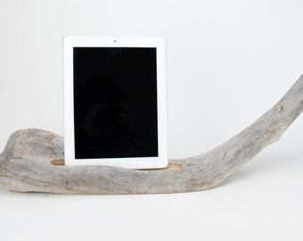 Docking Station, Driftwood iPad dock, iPad Charger, iPad Charging Station, driftwood ipad dock, wood ipad dock/ Driftwood- No. 962