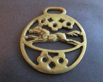 Vintage Horse Tack Brass Decoration