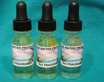 CAPRI SEASIDE CITRUS Type  Fragrance Oil Body Perfume 1/2 oz