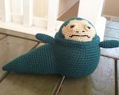 Crochet Jabba the hut
