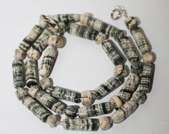 Skarn necklace, Russian gemstones,FREE SHIPPING
