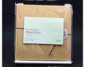 My Creations - Mini Folio Z3070 Accordion Scrapbook Album 4x4