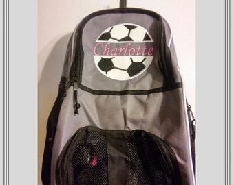 NEW COLORS/Personalized Soccer/Volleyball/Basketball Backpack/Boys/ Girls/ Sports Bag/monogrammed bag/