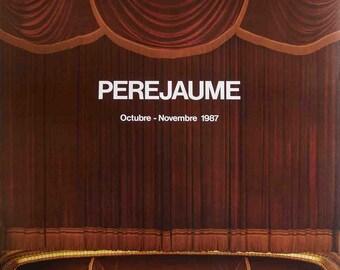 Perejaume-Galeria Joan Prats-1987 Poster