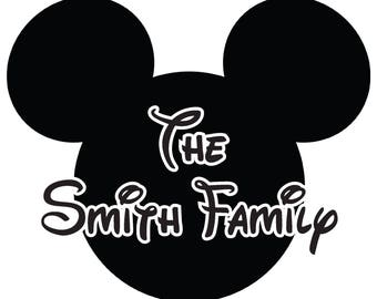 Disney Themed Decal | Car Decal | Disney Decal | Laptop Decal | Cell Phone Decal | Mickey Decal | Minnie Decal | Goofy Decal | Donald Decal