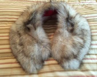 50s Fox Fur Collar