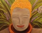 BUDDHA RESTING, Original ...
