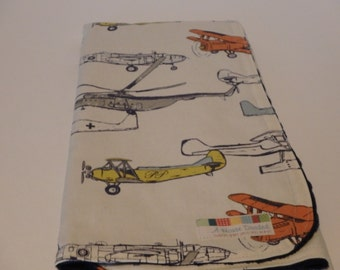 Vintage Airplanes Blanket