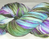 "Hand dyed sock yarn ""MN Vineyard"""