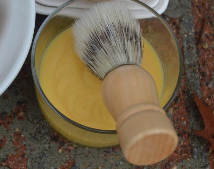 Lemongrass Vegan Shaving Soap 4oz