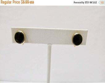 On Sale WRE 1/20 12kt Gold Filled Black Onyx Earrings Item K # 80