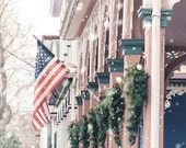 Cape May New Jersey, Cape May Christmas, Snow, Winter Scene, Winter Photograph, architecture, jersey shore