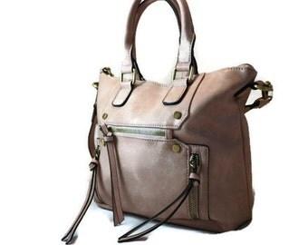 Blush Pink Camera Bag    Purse Camera Bag   Ladies Small DSLR Bag   Made in USA   Ready to Ship