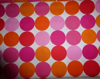 "Two Yards & 6"" of Michael Miller Quality Quilt Cotton Fabric M.E. Hordyszynski for Michael Miller Fabrics ""Disco Dot"""
