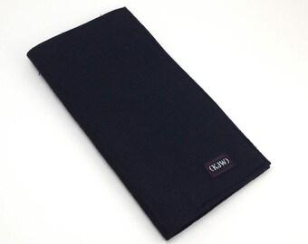 Felt pocket Insert for Standard Fauxdori Traveler's Notebook All Black