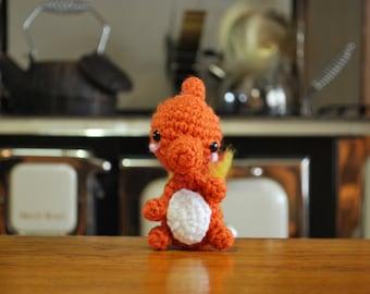 Little Crochet Charmeleon