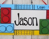 custom lego sign