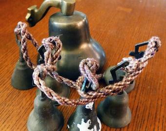 Ships Brass Bell & Religious Ceremonial Bells