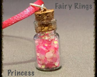 Princess Fairy Bottle Necklace