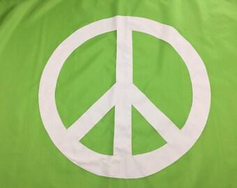 3'x5' Bright Green Peace Flag