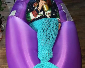 Mermaid or Shark Tail Blanket