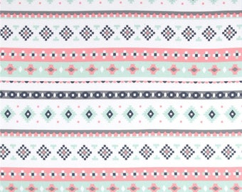 NEW Large Pale Tribal Baby Swaddle Blanket || Stretchy Fabric || New Baby || Extra Roomy