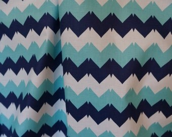 ZIG ZAG 100% Cotton Broadcloth Fabric