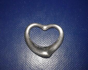 Tiffany & Co. Elsa Peretti Made In Spain Sterling Silver Pendant Vintage Rare Find