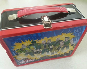 Vintage Small Soldiers Movie Tin Lunch Box