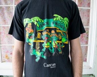 Vintage 80s 90s Cancun Mexico T-Shirt