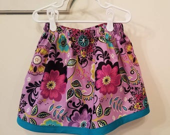 Floral Skirt-Girls Size 4T/4