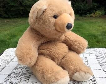 Gund Snuffles Bear / GUND 13 in Bear / Gund Teddy Bear / 2 Tone Brown  Bear / 13 in Teddy Bear / Snuffles Teddy Bear / 80's Teddy Bear / VG