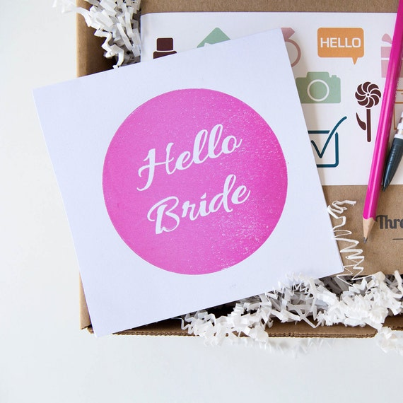 Bride Box - Gift For The Bride - Engagement Gift - Wedding Planning ...