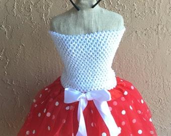 Minnie Mouse Skirt, Minnie Mouse Tutu, Minnie Mouse Costume, Minnie Costume, Minnie Mouse Ears, Minnie Mouse Dress, Minnie Disney Outfit