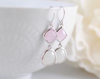 The Leena Earrings - Pink