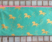 Unicorn Pencil Case/Zipper Bag