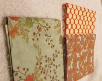 Fat Quarter Bundle with 3 FQs from Moda polka dots, florals. C4