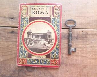 VIntage Postcards Rome Italy Ricardo Di Roma Part II
