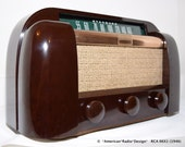 RCA Six Tube Radio (1946) Clean and Working model 66X1 Free Shipping USA