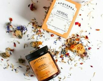 Herbal Detoxifying Steam w/ Flowers + Cleansing Herbs