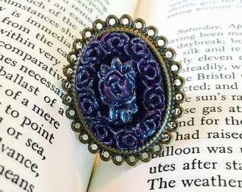 Purple Bouquet Ring