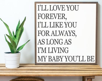 I'll Love You Forever 2x2